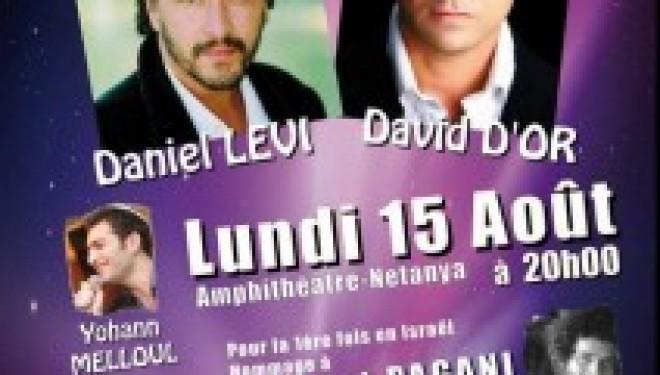 Concert Daniel LEVI et David D'OR avec un Hommage à Herbert PAGANI