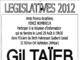 Gil Taïeb : élections législative 2012