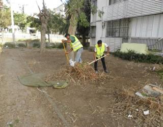 Nettoyage de la ville pour Roch Hachana