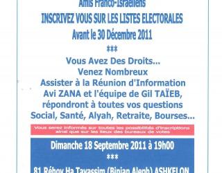 LEGISLATIVES FRANCAISES 2012