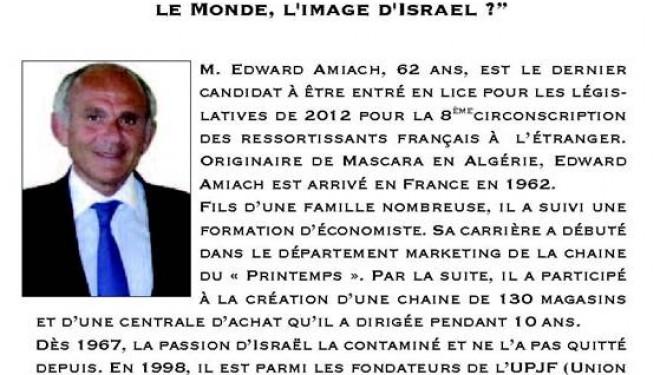 Carrefours de l'Actualité : conférence débat d'Edward AMIACH