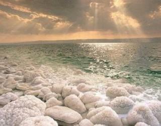 Tiyoul a la mer morte avec l'association C.F.A. d'Ashkelon