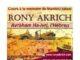 Conférence de Rony Akrich : La force ou la Foi ?