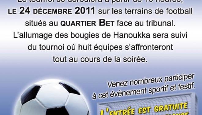 Tournoi de Football organisé à la mémoire de Raphael Darmon