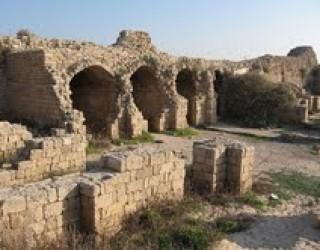 Kal'at-al-Mina, la Citadelle du port à Ashdod