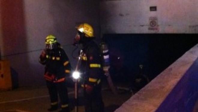 Ashdod : Un parking souterrain en feu, plusieurs blessés…