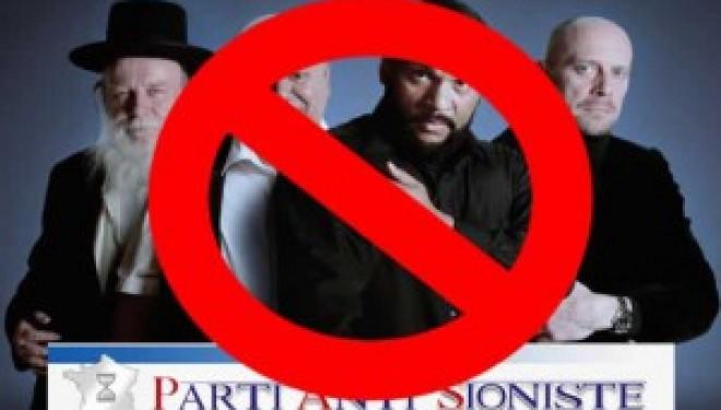 Pétition pour interdire le « Parti Anti Sioniste »