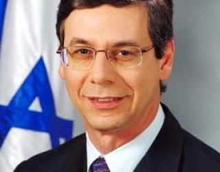 Entretien de Laurent Fabius et de Daniel Ayalon, vice-ministre israélien des Affaires étrangères