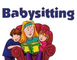 Baby sitting !