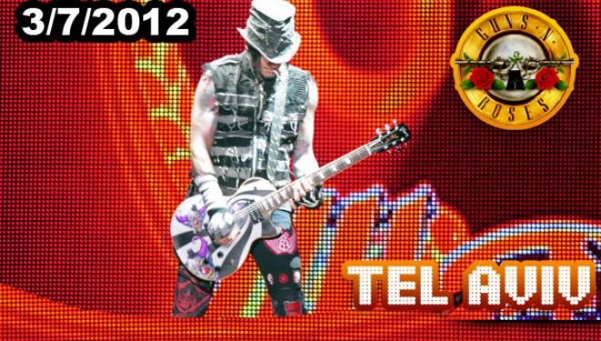 Les Guns N'Roses prochainement à Tel Aviv !