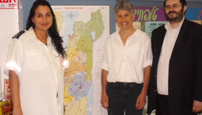 Le Maguen David Adom en Israël reçoit la visite de la délégation locale de Reims du MDA France