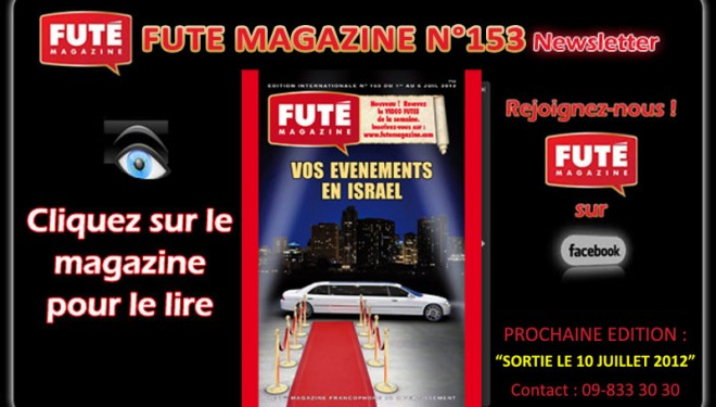 Futé Magazine : à lire sur AshdodCafé !