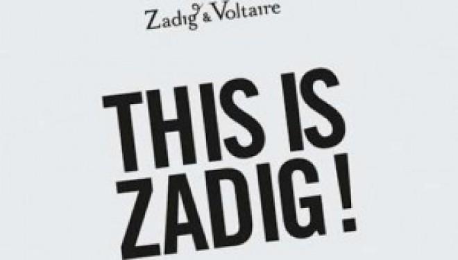 La tsniout en lumière chez Zadig & Voltaire