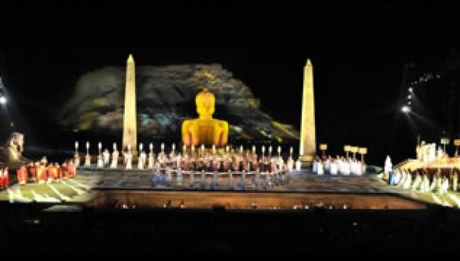 Turandot à Massada en 2013 et Rigoletto à Tel Aviv !