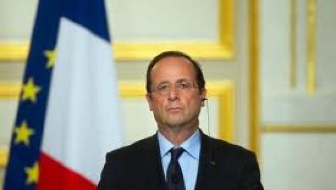 Communiqué de M. François Hollande suite à la disparition de M. Yitzhak Shamir