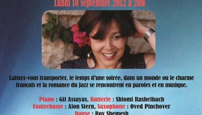 Concert exceptionnel de Françoise «Paris-jazz»