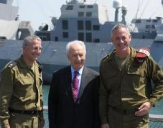 Shimon Peres remercie Tsahal à l'occasion du Nouvel an juif !