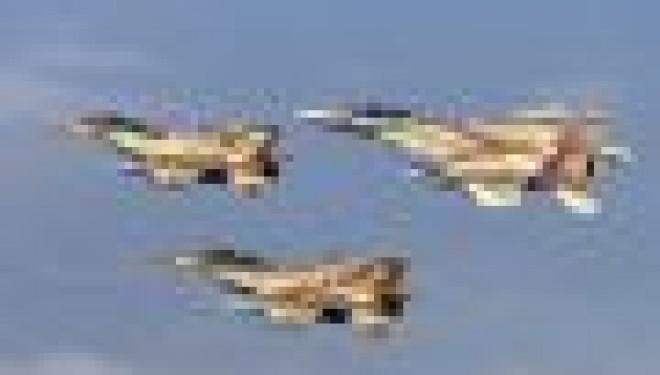 L'Armée de l'Air israélienne riposte aux tirs de roquettes