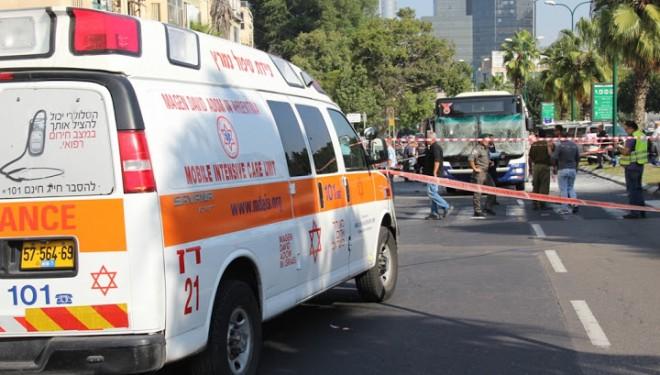 Explosion dans un autobus au centre de Tel-Aviv