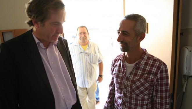 Les officiels français se sont rendus à Beer Sheva et Dimona aujourd'hui !