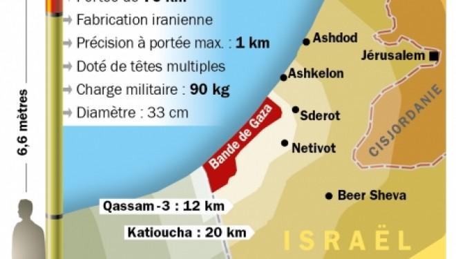 Une roquette s'abat sur un secteur inhabité de Jérusalem, des blindés israéliens à la frontière !