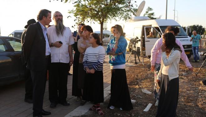 Déplacement de l'Ambassadeur de France, M. Christophe Bigot, et du Consul Général à Tel-Aviv, M. Patrice Matton, dans le sud d'Israël !