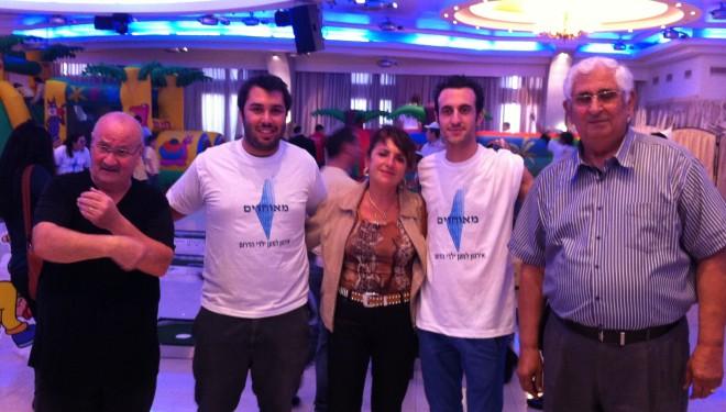 L'association Meouhadim a gagné son pari de «solidarité avec les enfants du sud d'Israël»