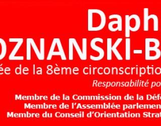 DAPHNA POZNANSKI-BENHAMOU : l'invalidation de mes comptes de campagne