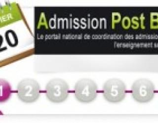 Inscription en 1ère année d'études supérieures en France !