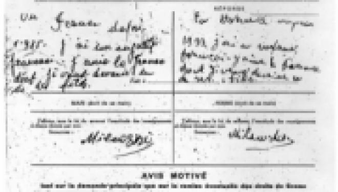 Histoire : Reprendre son patronyme juif, la fin du nom français !