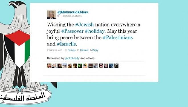 Abbas reconnaît la Nation Juive ! Pâques est passé par là…