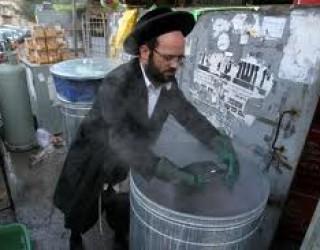 Cachérisation de la plata de Chabbat (Hamets),du micro-ondes (Hamets) …