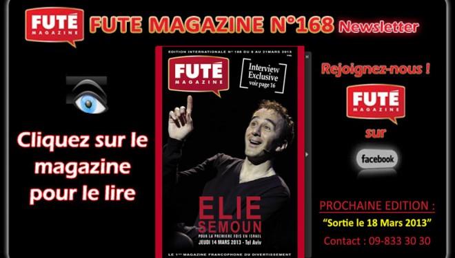 le dernier FUTE Magazine en ligne  sur AshdodCafe