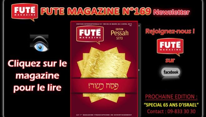 FUTE Magazine : «EDITION PESSAH 5773»