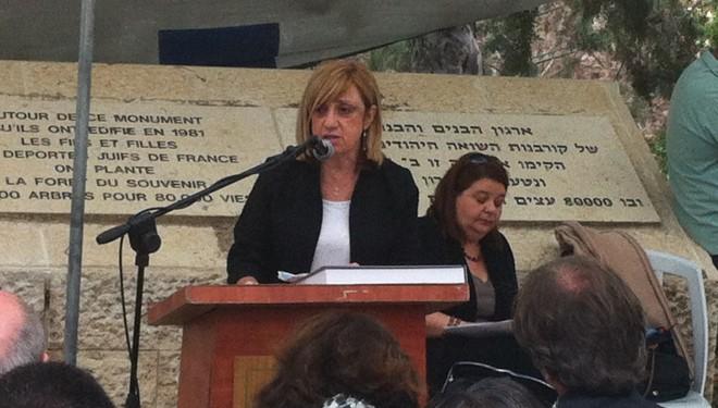Cérémonie commémorative de Yom Ha Shoah en français à Roglit