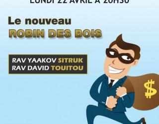 Conférence des Rav Yaakov Sitruk et David Touitou A Ashdod