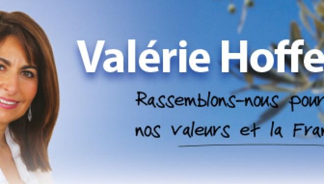 Valérie Hoffenberg soutenu par David Harari, lauréat du Prix de la défense d'Israel !