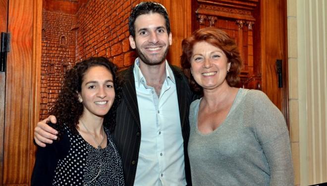 Conférence de Jonathan Simon Sellem et Véronique Genest à Ashdod : un succès total
