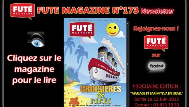 Futé Magazine n°173 : Spécial croisières et rires !
