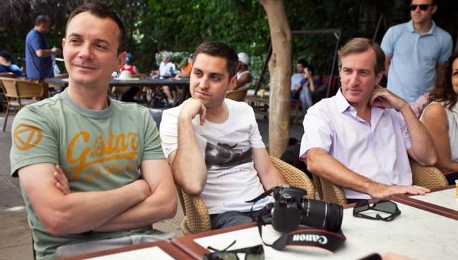 Le premier couple homosexuel marié de France en voyage de noces à Tel-Aviv