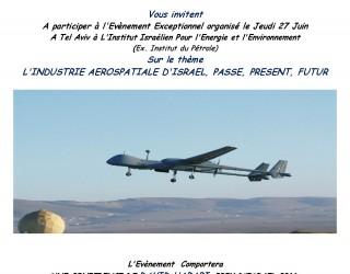AAEGE : l'industrie aérospatiale d'Israël, passé, présent, futur !