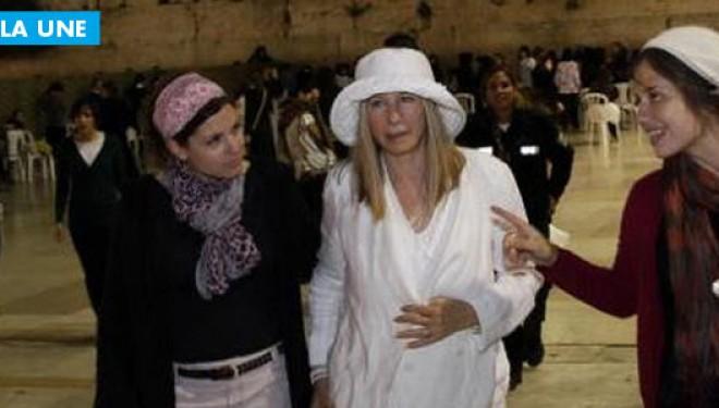 Barbra Streisand au Kotel !