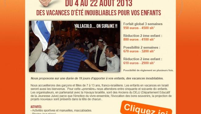 YallaColo, des vacances inoubliables pour vos enfants !!!