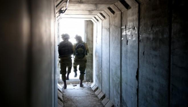 Les soldats de Tsahal se préparent au combat souterrain