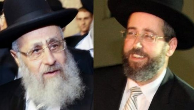 Yitzhak Yossef et David Lau, élus Grands Rabbins d' Israël