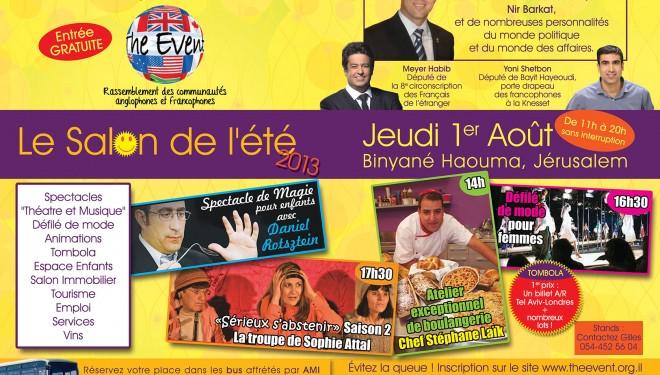 The Event : juste pour vous ……