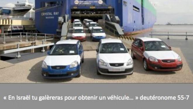 Achetez une voiture en franchise de taxe après l'Alya !