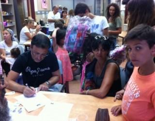 projet d'aide pour la formation : 3 salons pour les olim