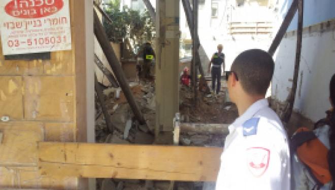 Plusieurs victimes suite à l'effondrement du plafond d'un appartement à Tel-Aviv
