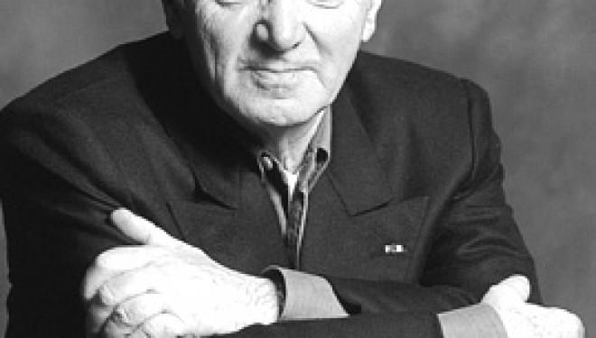 Charles Aznavour Pour la première fois en concert en Israël